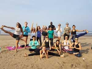 Yoga Near Beach